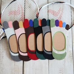 Abarana - Color Block Toe Socks