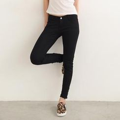 SO Central - Distressed Skinny Pants