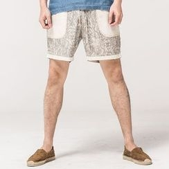 Ashen - Printed Shorts