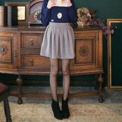 Tokyo Fashion - Pleated A-Line Skirt