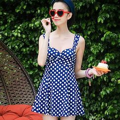 Zeta Swimwear - Dotted Swimdress