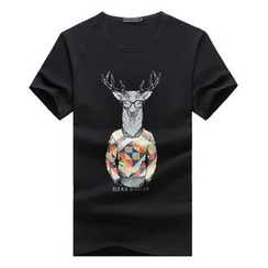 T for TOP - Print Short-Sleeve T-Shirt