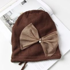 EVEN - Bow Accent Beanie