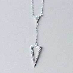 A'ROCH - Triangle Drop Necklace