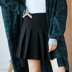 BAIMOMO - 打褶裙褲