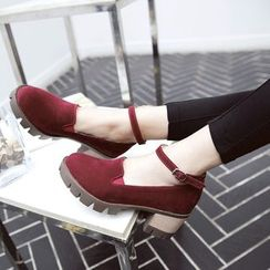 Pangmama - Block Heel Pumps