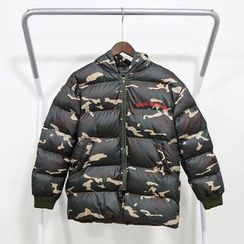 Mr. Cai - Camouflage Padded Coat