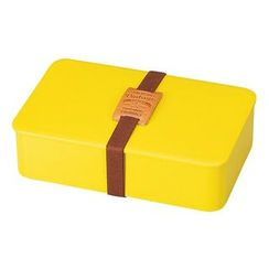 Hakoya - Hakoya American Vintage Men's Simple Lunch Box (Yellow)