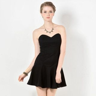 59 Seconds - Strapless A-Line Dress