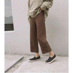 Eva Fashion - Plain Straight Pants
