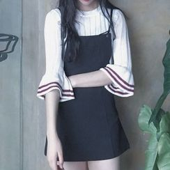 Frontline - A-Line Pinafore Dress