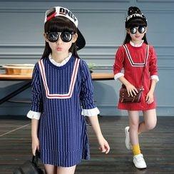 Princess House - Kids Plaid Long-Sleeve Dress