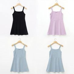 chuu - Sleeveless A-Line Mini Dress