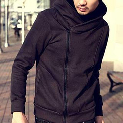 Evolu Fashion - Hooded Side Zip Couple's Jacket