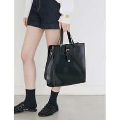 FROMBEGINNING - Buckled Square Tote