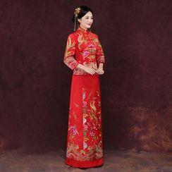 ZAKSKI - 刺繡婚禮旗袍
