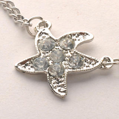 Fit-to-Kill - Starfish Necklace - Silver