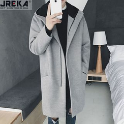 Jacka - Hooded Long Coat