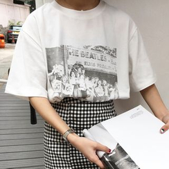 Dute - Short-Sleeve Printed T-Shirt