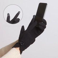 RGLT Scarves - Flower Accent Gloves