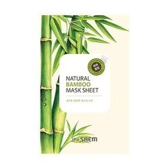 The Saem - Natural Bamboo Mask Sheet 1pc