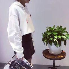 Tulander - Lettering Hood Sweatshirt