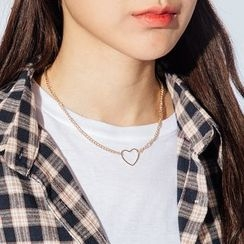 Heynew - Heart Pendant Necklace