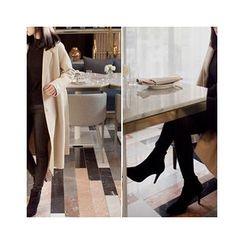 MASoeur - Wool Blend Coat with Sash