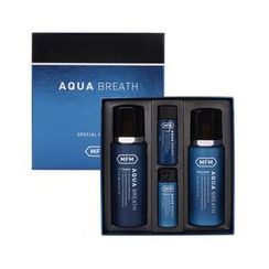 Missha - Aqua Breath Set : Toner 180ml + Emulsion 170ml + Toner 30ml + Emulsion 30ml