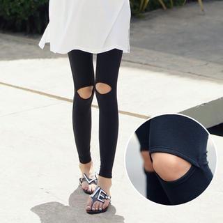 REDOPIN - Cutaway-Knee Leggings