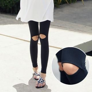 REDOPIN - Cutaway-Knee Leggings