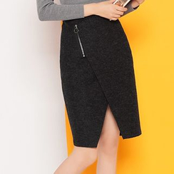 Coolvibe - Layered Pencil Skirt