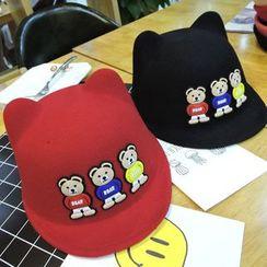 華娟 - 童裝小熊短舌帽
