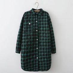 Waypoints - Plaid Padded Long Shirt