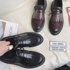 Hipsole - Fringed Panel Oxfords