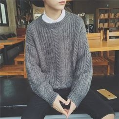 Soulcity - Cable Knit Sweater