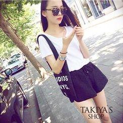TAKIYAS - Short-Sleeve T-Shirt