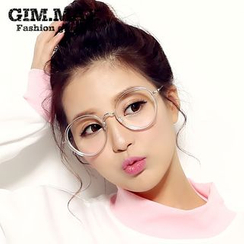 GIMMAX Glasses - Retro Oversized Round Glasses