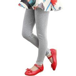 Aquafaba - Kids Lace Trim Leggings