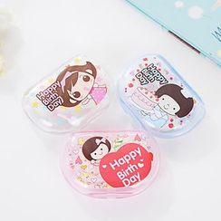 Coco Store - 印花隐形眼镜盒