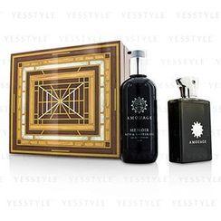 Amouage - Memoir Coffret: Eau De Parfum Spray 100ml/3.4oz + Bath and Shower Gel 300ml/10oz