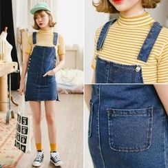 Ekim - Denim Jumper Dress