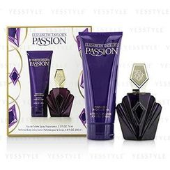 Elizabeth Taylor - Passion Coffret: Eau De Toilette Spray 74ml/2.5oz + Body Lotion 200ml/6.8oz