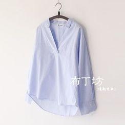 布丁坊 - V領襯衫
