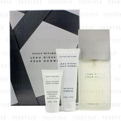 Issey Miyake - Issey Miyake Coffret: Eau De Toilette Spray 125ml/4.2oz + Shower Gel 75ml/2.5oz + Soothing After Shave Balm 30ml/1oz