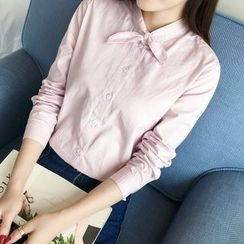 Tangi - Bow Neck Shirt