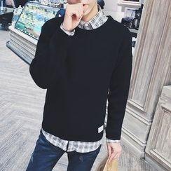 JUN.LEE - Crewneck Sweater