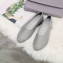 NANING9 - Faux-Leather Flats