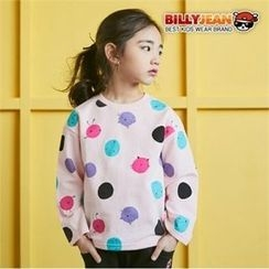 BILLY JEAN - Girls Crew-Neck Dot T-Shirt