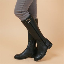 Styleberry - Buckled Tall Boots